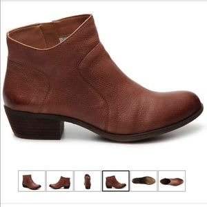 Lucky Brand Brolley sz 11 brown ankle booties